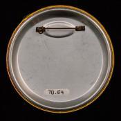 1970.64 (Political Pin, Political Button) image