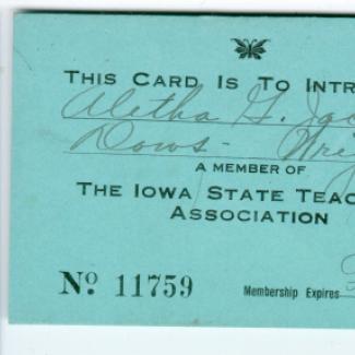 1975.4.0148 (Card, identification) image