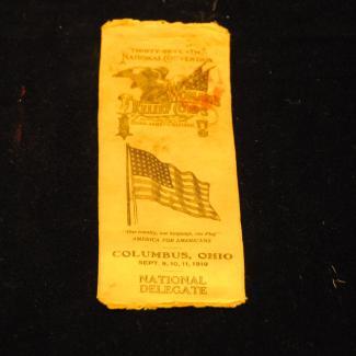 1977.27.1 (Badge, Ephemera) image