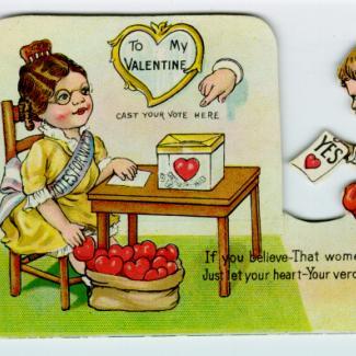 1986.4.0540 (Card, valentine) image