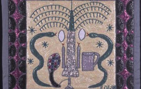 VÉVÉ Spiritual Symbols of Haiti Image