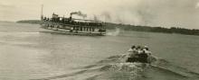 Boats on Lake Okoboji
